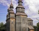 Chernihiv bölgesi, Sedniv, Kraliçe Kazak Ahşap George Kilisesi 1747