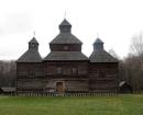 Kiev Pirogovo Bölgesi, s.Kysorychi Diriliş Kilisesi 1784