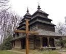 Lviv, Şevşenko Parkı, 1863 Tisovec Köyünün Kilisesi