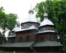 Lviv Zhovkva Bölgesi s.Krehiv Paraskeva Kilisesi 1724
