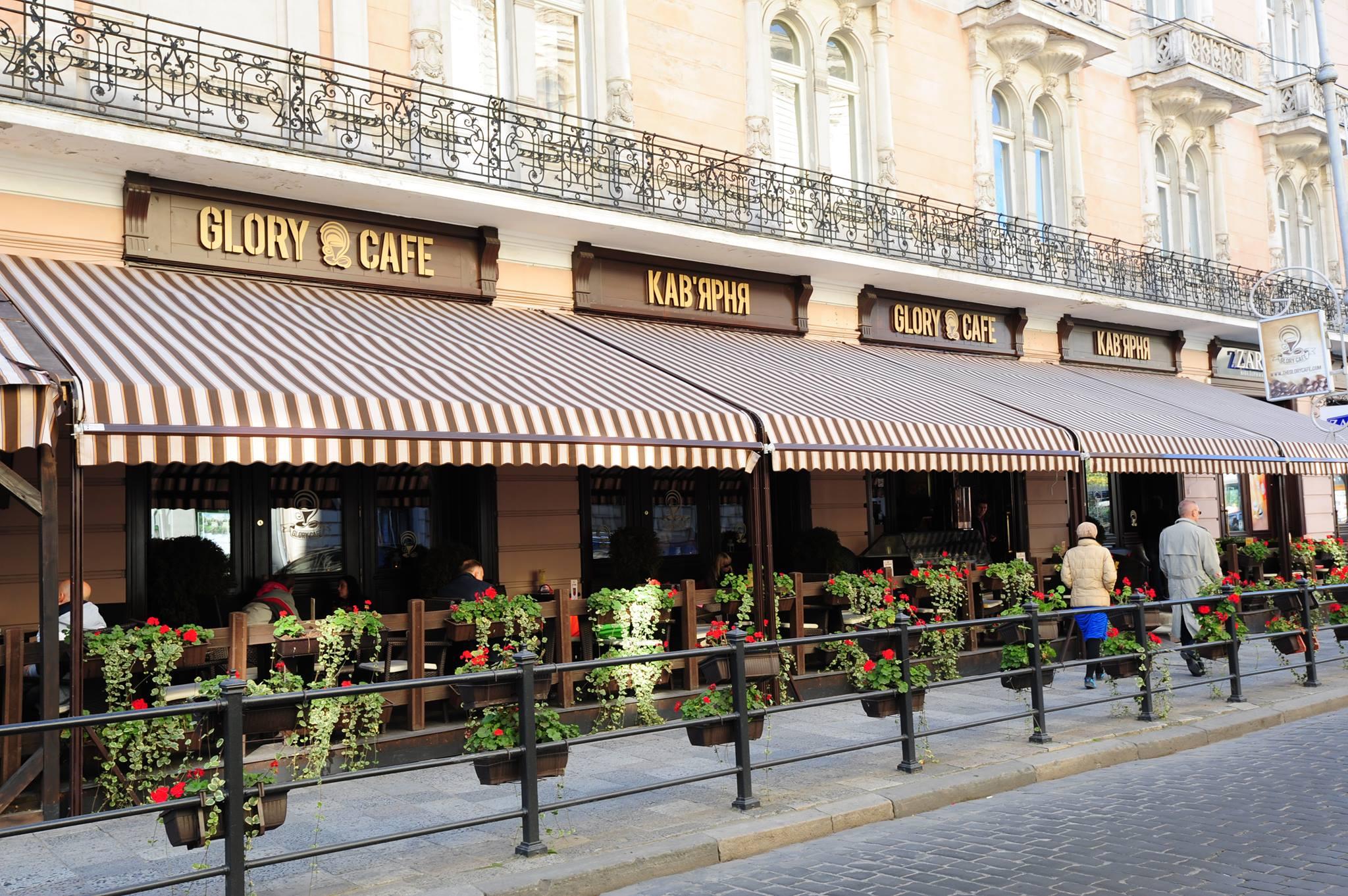 Glory Cafe, Lviv Glory Cafe, Lviv Türk İşletmesi, Lviv Onur İnşaat, Onur Group, Erhan Yüksel, Onur Çetinceviz, Ukrayna Onur Group