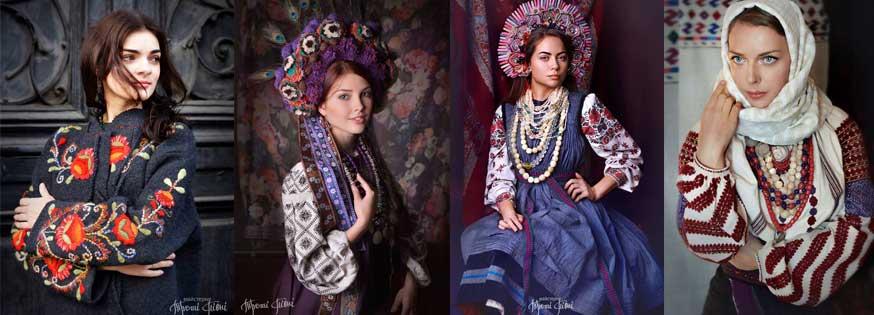 100 yıl önce Ukrayna Bayan Giyimi, Ukranian History Clothes, ukrayna geleneksel giyim, Ukrayna Giyim kültürü, Vışivanka, Lviv Kültür Müzesi