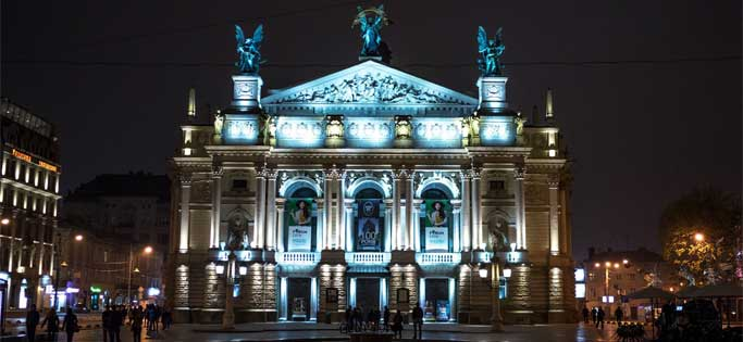 Lviv Theatre Opera Ballet - Opera ve Tiyatro Binası | Lviv Haber
