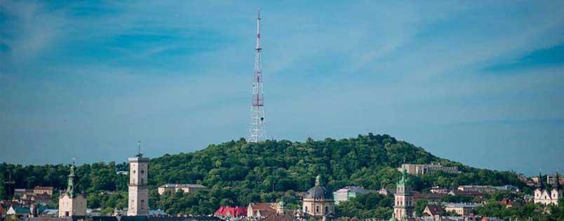 Lviv High Castle Hill, Lviv Yüksek Saray, Lviv kuş uçuşu, Şehrin en güzel yeri, Lviv yukarıdan görmek, Lviv Nasıl Bir Yer, Lviv e Gidilir mi