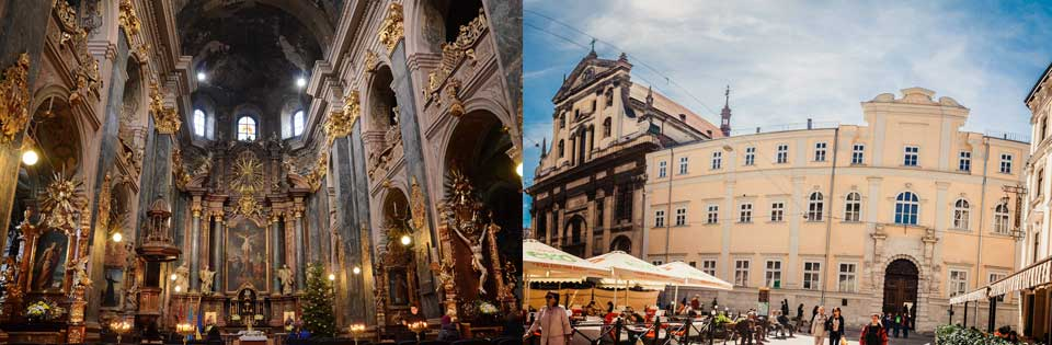 Lviv St Peter ve Paul Kilisesi, Lviv Cizvit Kilisesi, Lviv Catedral, Lviv tapınak, Lviv Gezi, Lviv Nereleri Görmeli, Lviv Tarihi Yerler, Katolik Kiliseleri
