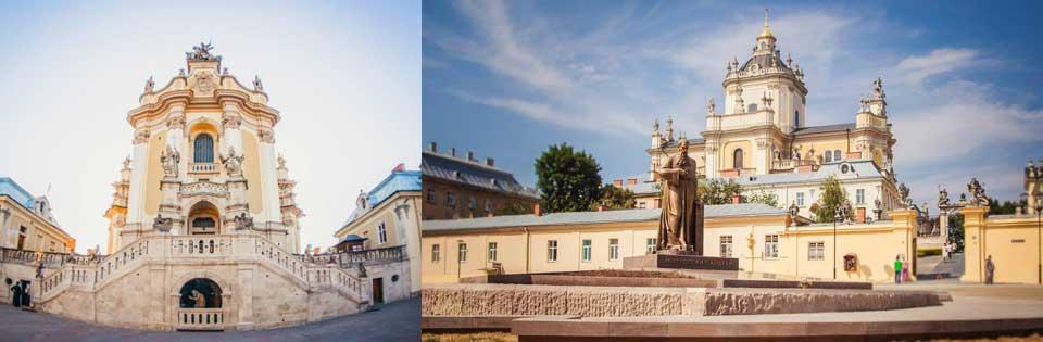 Lviv St Yura Cathedral, Yura Katedrali, George Katedral, lviv kiliseleri, Cathedral of Jura, George Cathedral, Lviv Gezi Rehberi, Lviv Sarayları, Lviv de Nereleri Görmeli, Lviv Yol Haritası