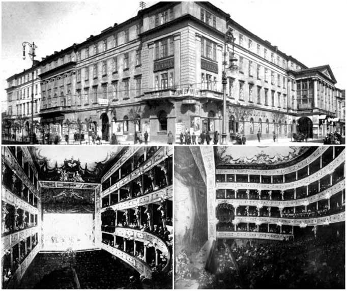La Scala Stanislaw Skarbek Tiyatrosu, Lviv Tiyatro, Lviv Sanat, Lviv Art, Lviv Sanat Merkezleri, Lviv Gösteri Merkezleri, Lviv Tiyatroları