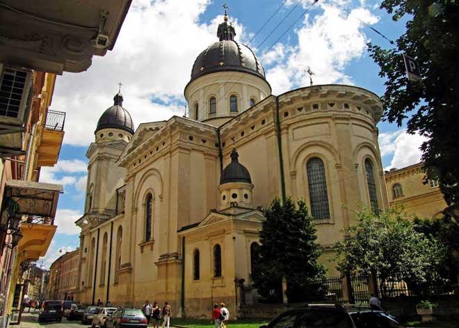 Lviv TransfiGuration Başkalaşım Kilisesi, Lviv Tarihi Yerleri, Lviv Kiliseleri, Lviv Müzeleri, Lviv Transfiguration, Ukrayna Lviv Özel Yerleri