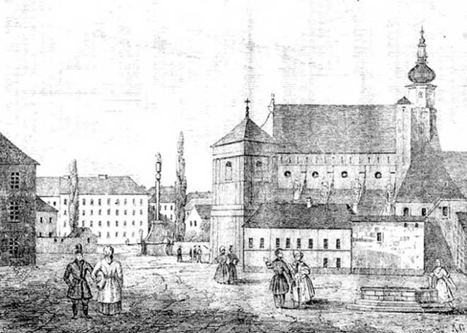 "Bernardine Avlusu - ""przyjaciel Ludu"" 1837 gravür © NAC | Lviv Haber"