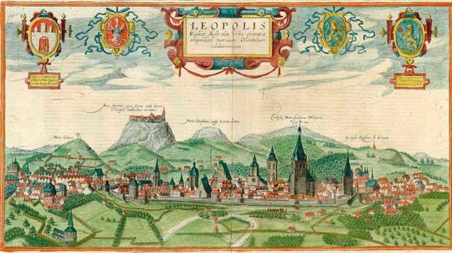 İbrahim Hoґenberґa - Passarotti Aurelio Şehir Panoraması, 1617-1618 © WIKI | Lviv Haber