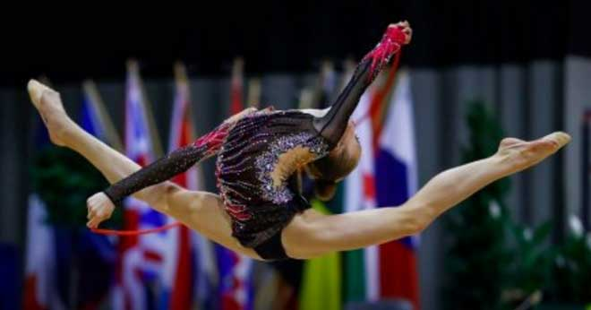 Avrupa Şampiyonası finalisti Lviv li Jimnastikçi Khrystyna Pohranychna Altın Madalya ile evine döndü
