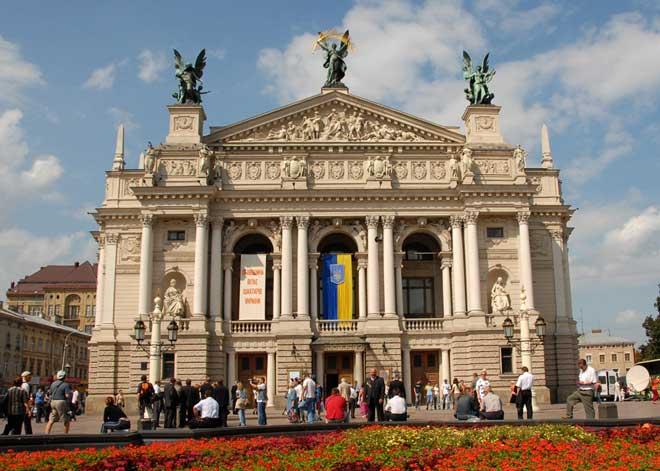 Lviv Opera ve Tiyatro Binası | Lviv Haber