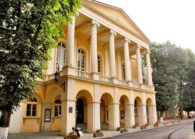 Lviv M. Zankovetska Tiyatrosu | Lviv Haber