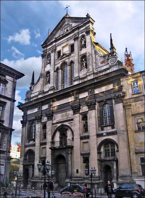 "Lviv Garnizon - APP. Peter ve Paul ""Cizvit"" Kilisesi 