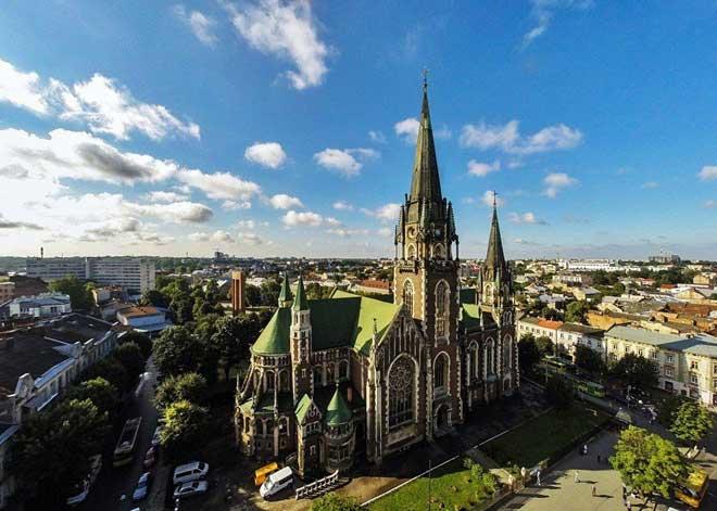Lviv Gotik Olga ve Elizabeth Kilisesi | Lviv Haber
