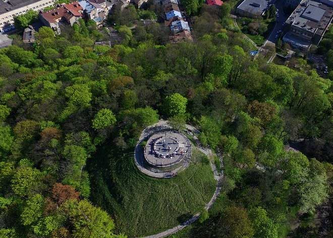 Lviv Yüksek Kalesi ve Parkı - The High Castle Hill | Lviv Haber