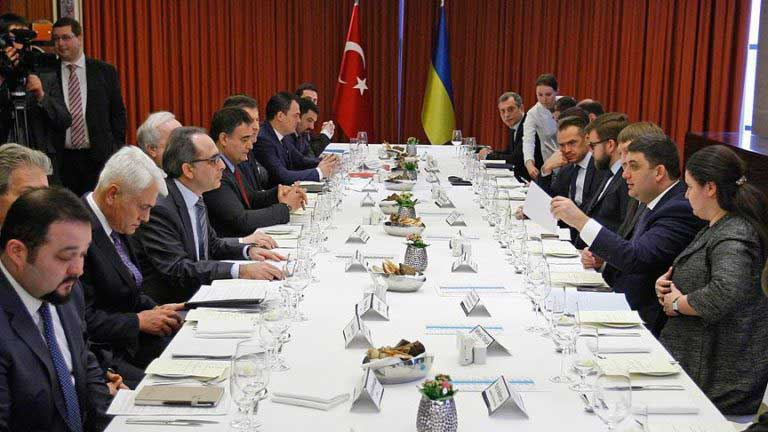Vladimir Groysman , Ukrayna Baş Bakanı, Ukrayna Türk iş adamları, kiev Tuid, Ukrayna iş dünyası Haberleri, Taras Kutoviy, Ukrayna Başbakanı tuid görüşmesi