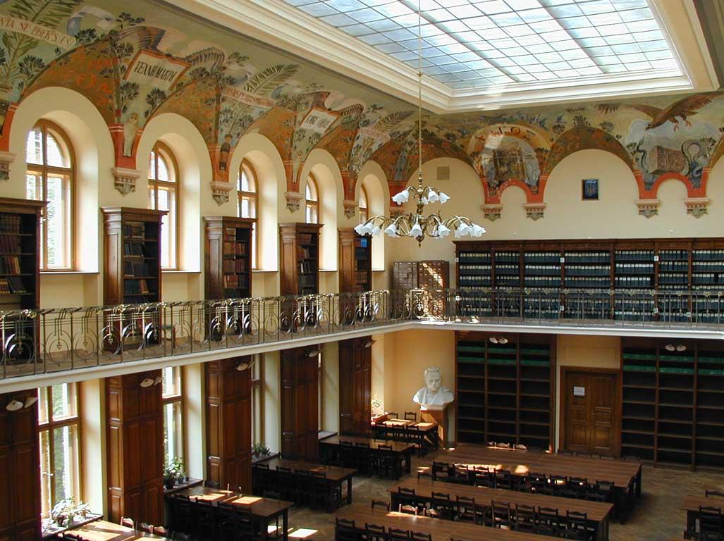Ivana Franko Kütüphanesi, Lviv Tarihi Yerler, Lviv üniversite kütüphaneleri, lviv kütüphaneleri, lviv tarihi, Ukrayna lviv tarihi yerler, Lviv Gezi Rehberi