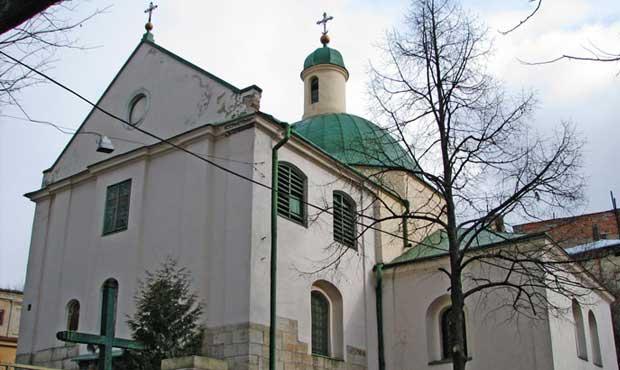 Lviv Aziz Nicholas Kilisesi, Церква Святого Миколая, Львів