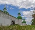 Çernihivska Bölgesi, Preobrajenskiy Manastırı, Novgorod-Seversky Kalesi