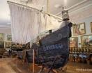Vilkovo Bir Müze Tekne, Kazaklar dönemine ait Foto.: Annataliya